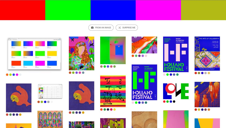 google arts and culture art palette bunt
