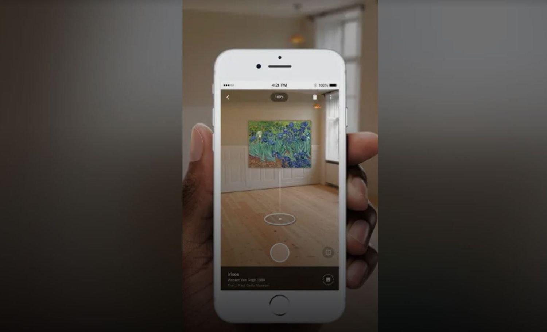 google arts and culture art projector