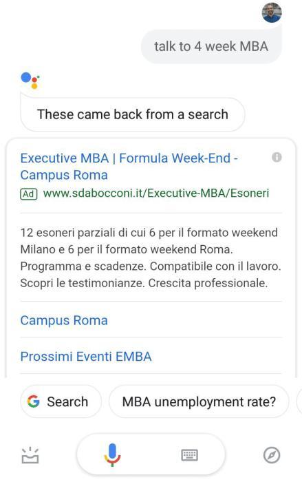 google assistant ad