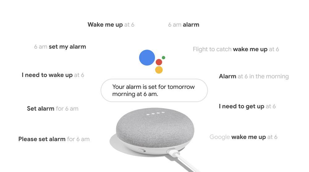 google assistant alarm