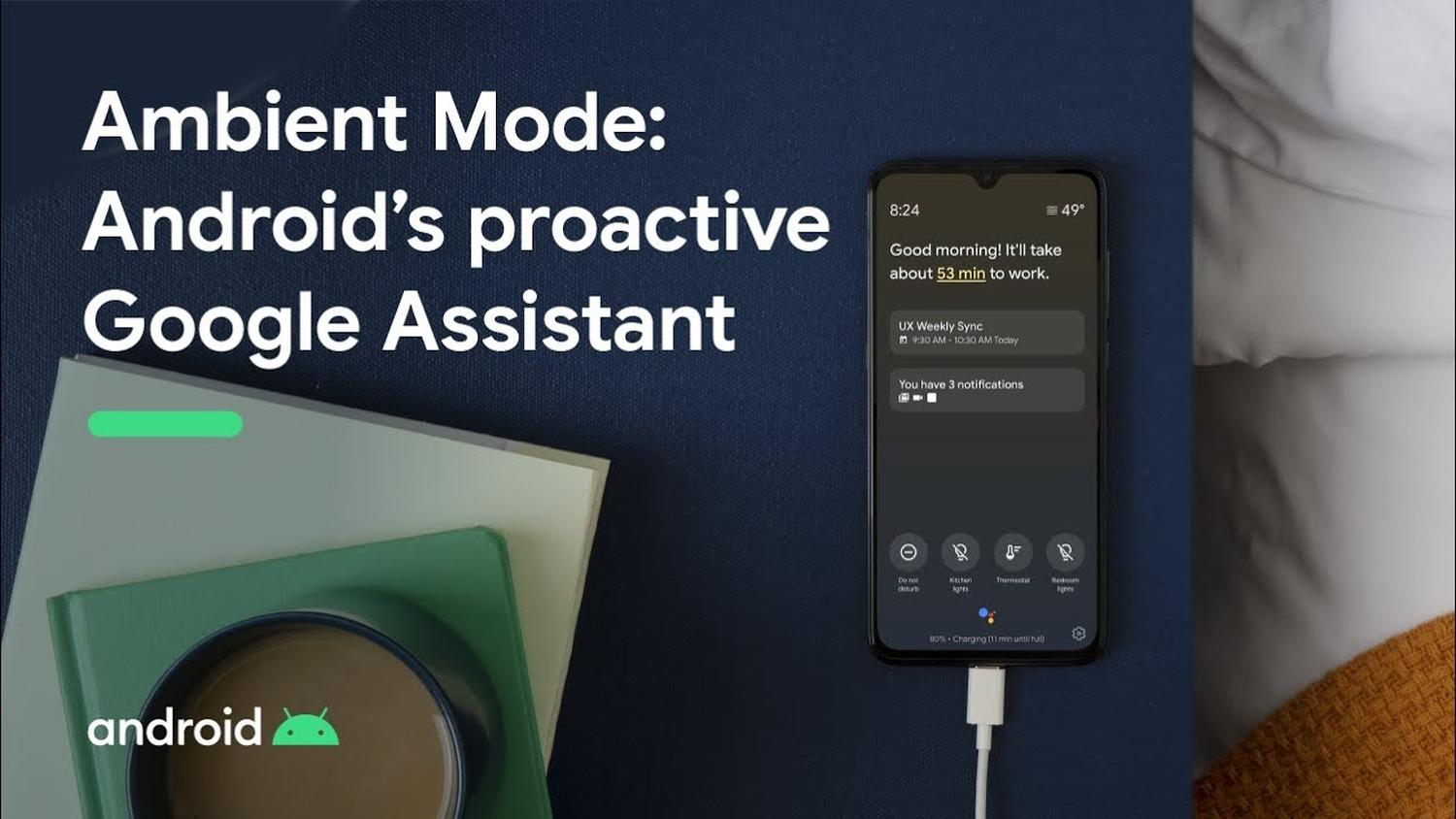 google assistant ambient mode