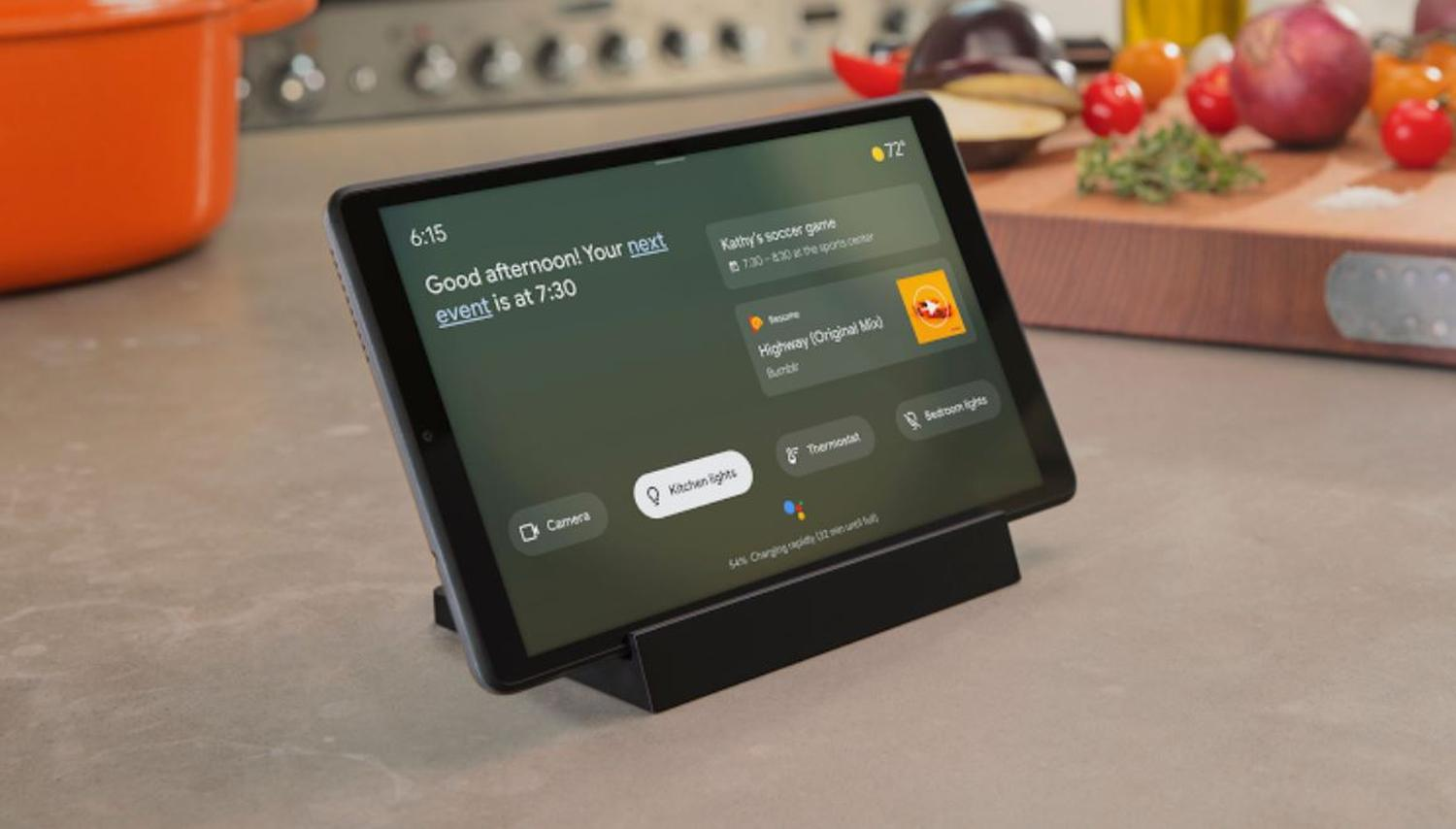 google assistant ambient mode tablet