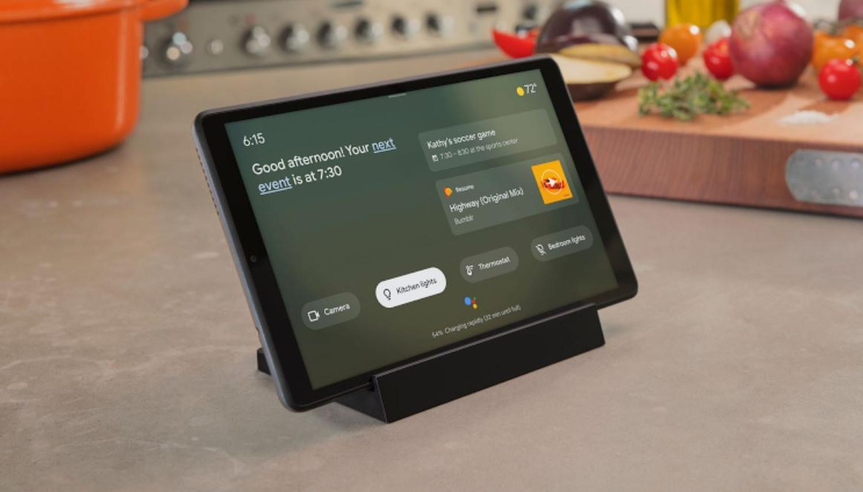 google assistant ambient mode tablet