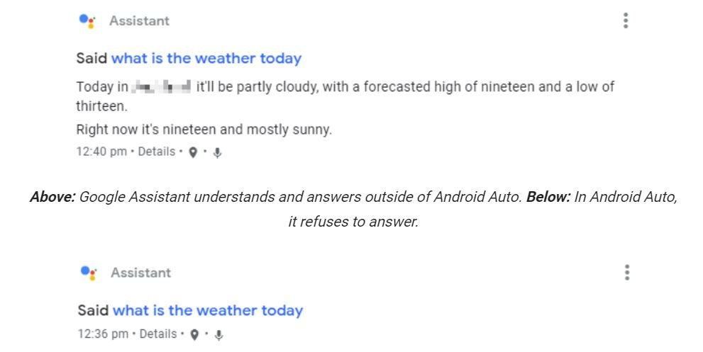 google assistant antworten