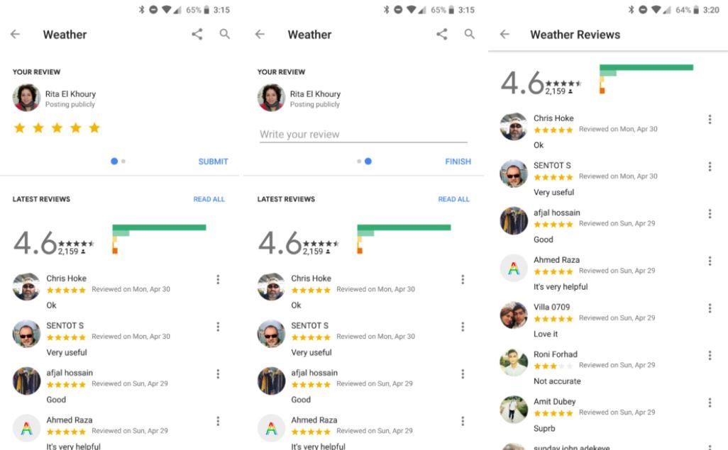 google assistant bewertungen