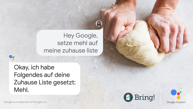 google assistant bring