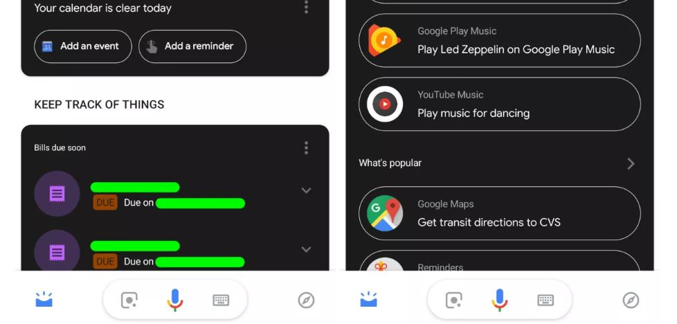 google assistant dark mode 2