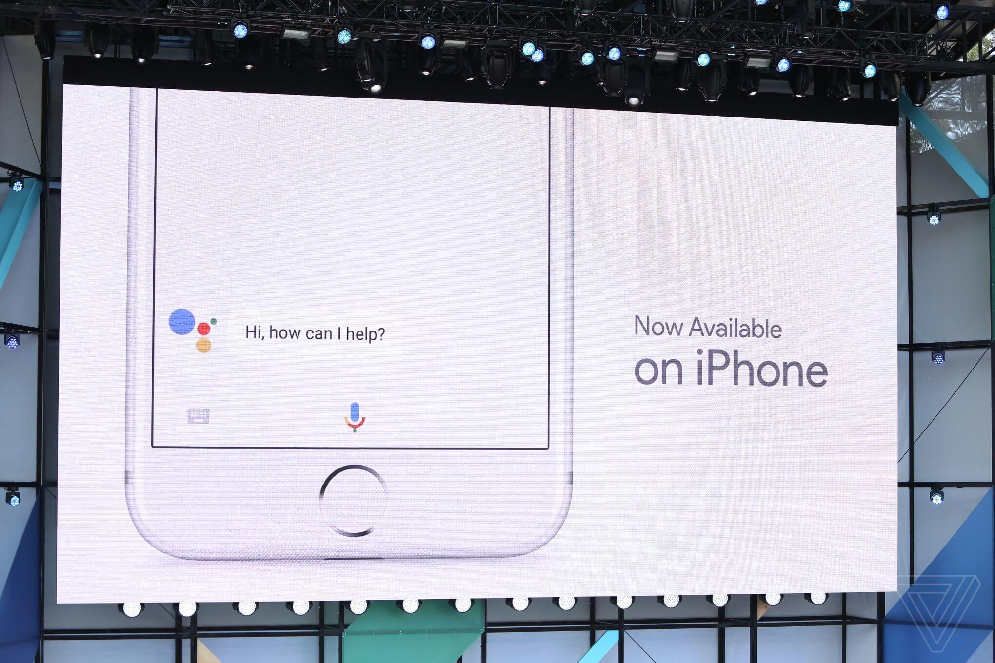 google assistant iphone