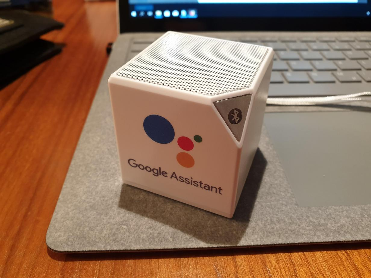 google assistant lautsprecher