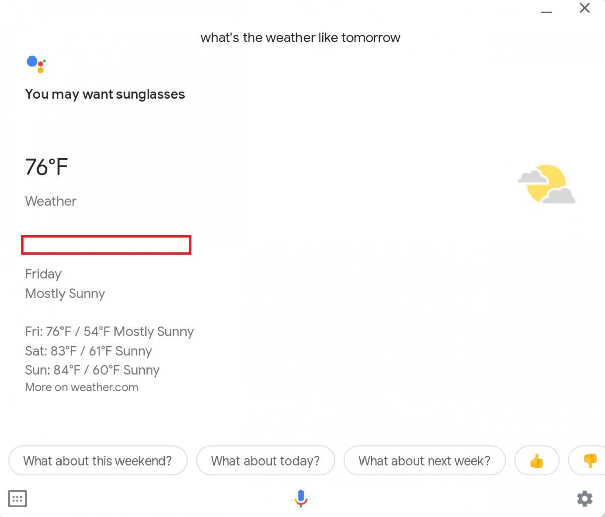 google assistant on chrome os