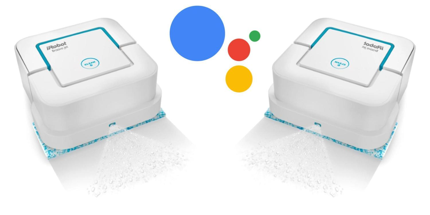 google assistant smart mop