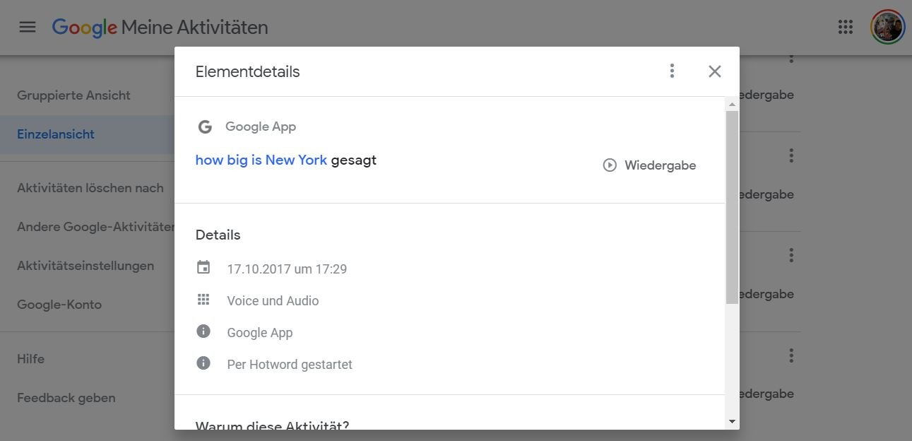google assistant sprachbefehl