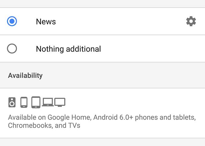 google assistant tablet