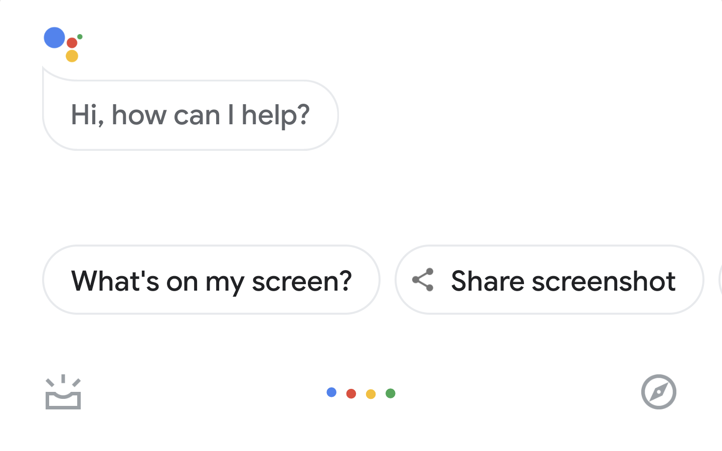 google assistant whats on my screen
