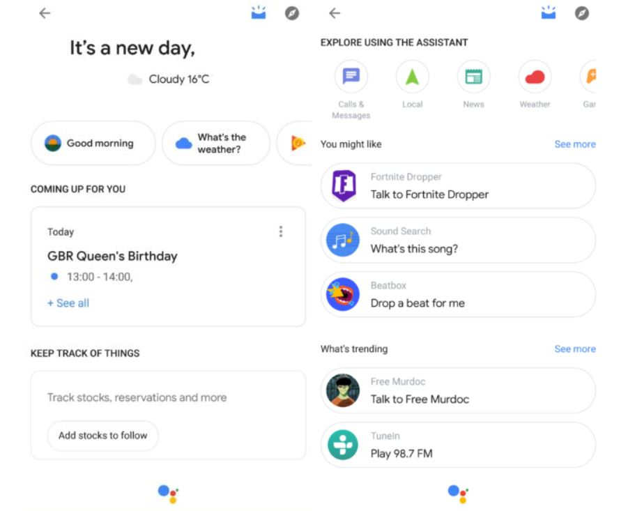 google assistant your stuff 2