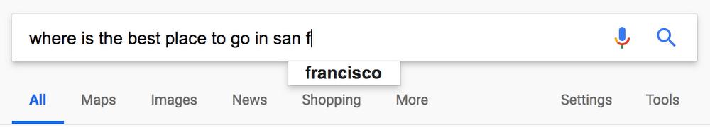 google autocomplete 2