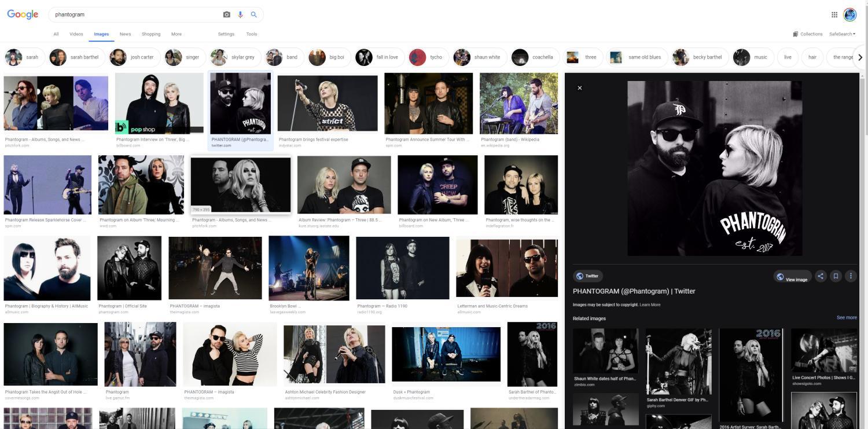 google bildersuche new design
