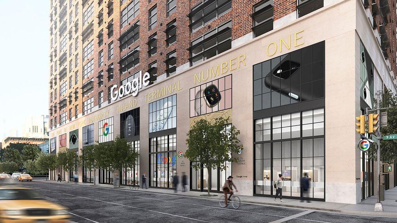 google brand store new york