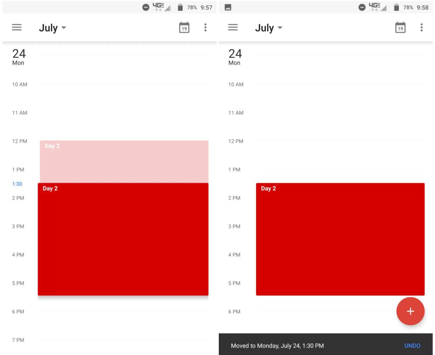 google calendar move
