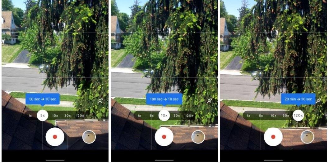 google camera pixel timelapse