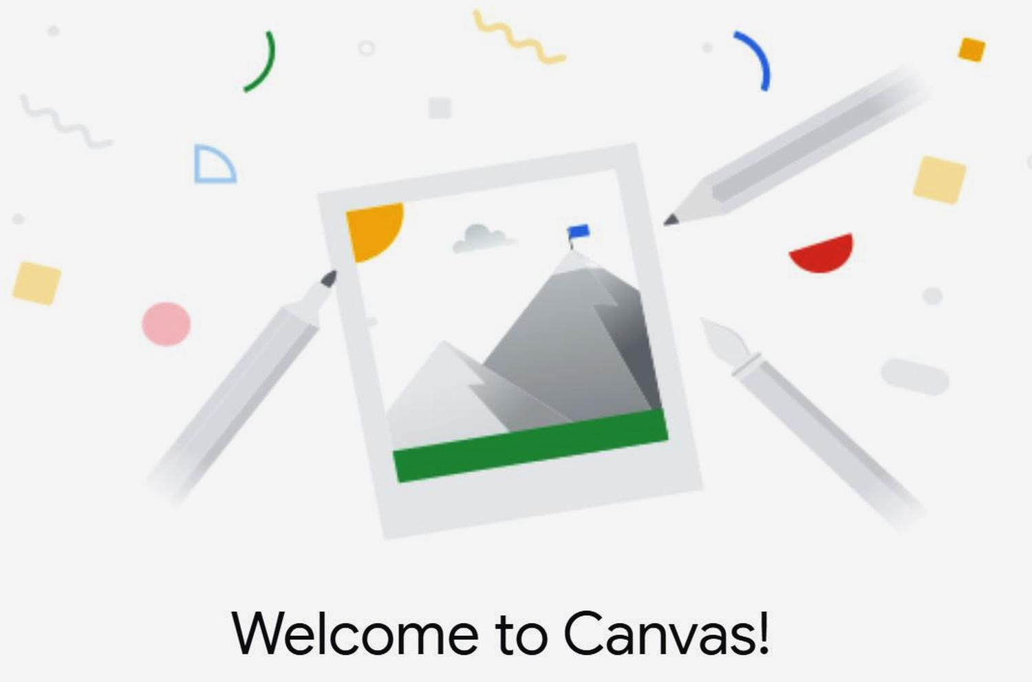 google canvas logo