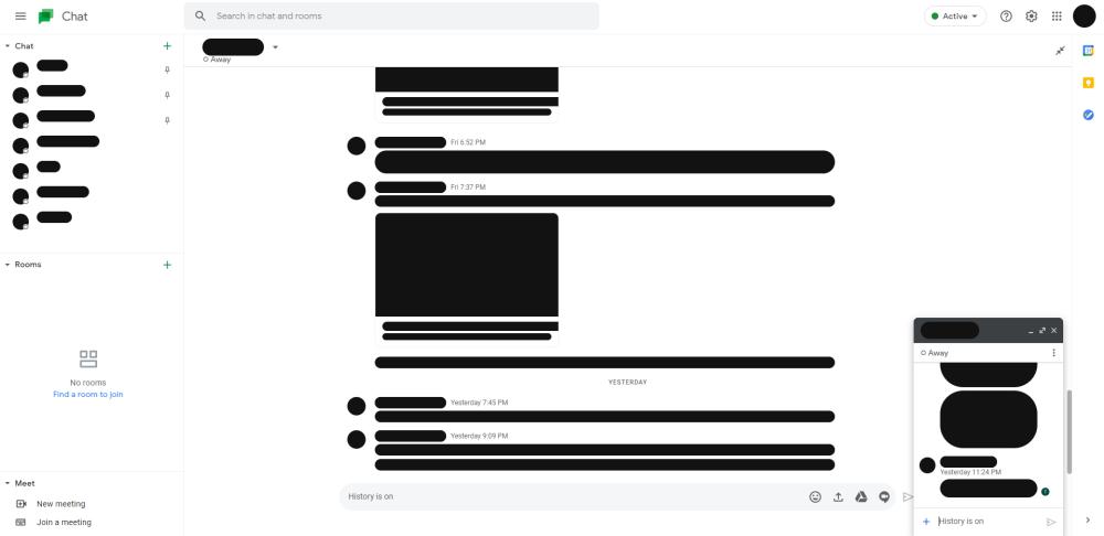 google chat screenshots 2