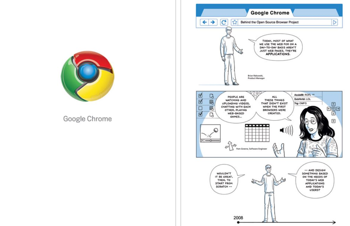 Google Chrome Comic