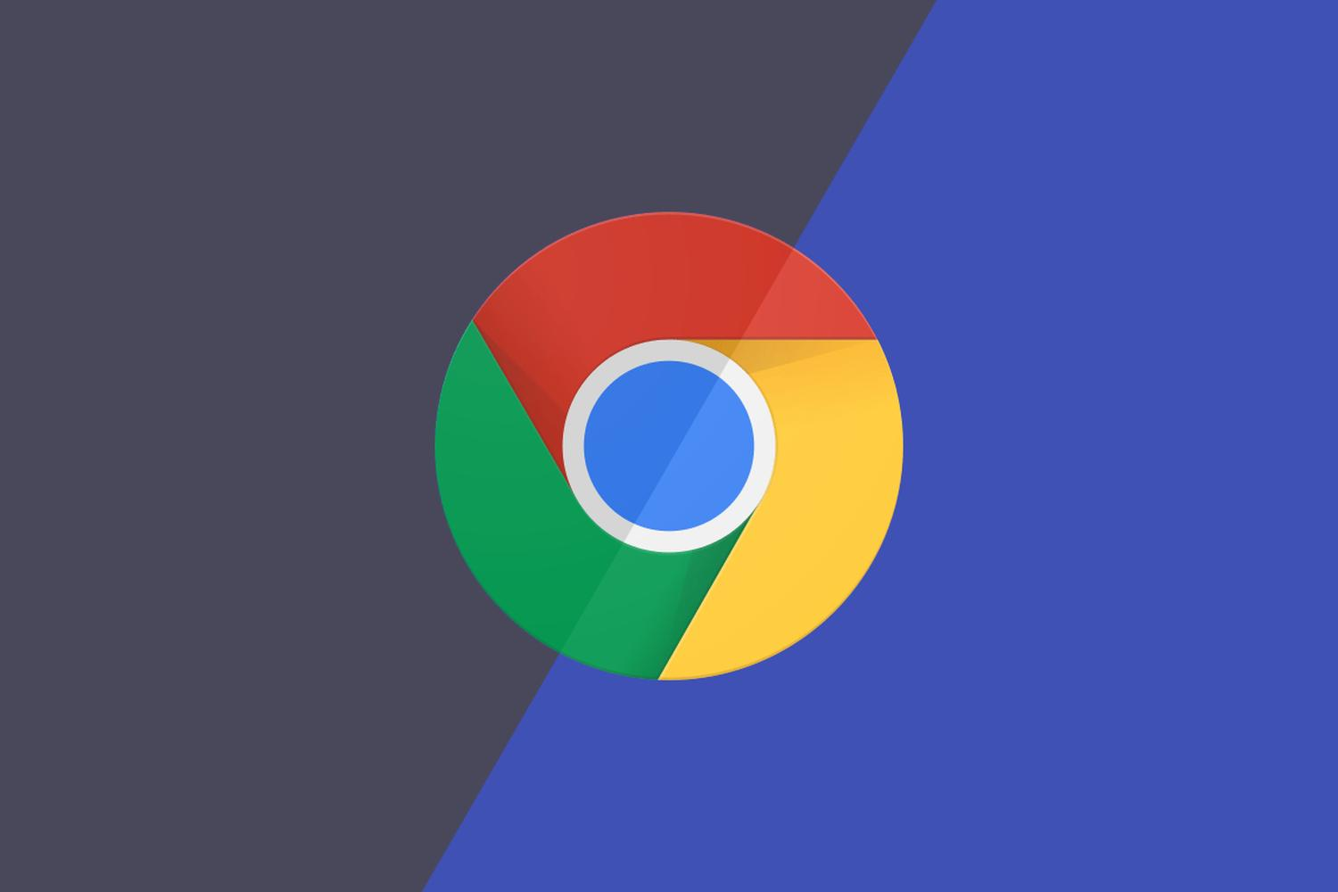 google chrome dark mode logo