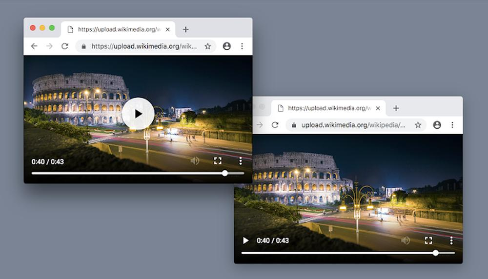 google chrome video player