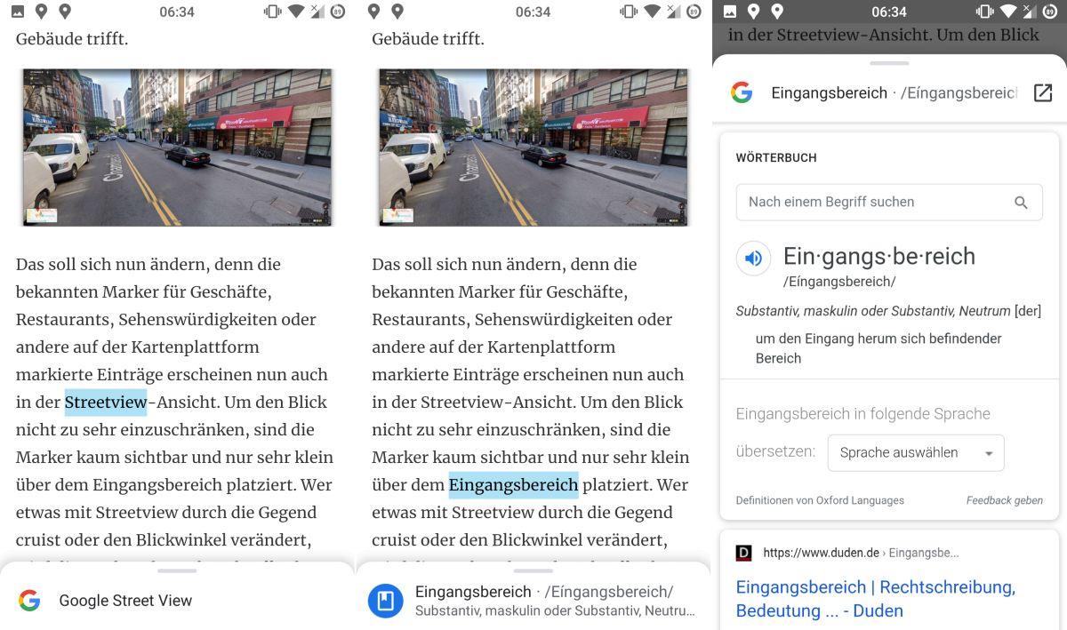 google chrome websuche