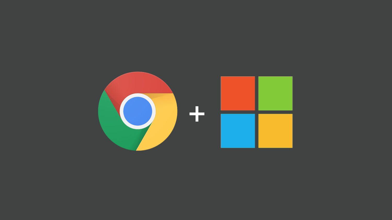 google chrome windows logo