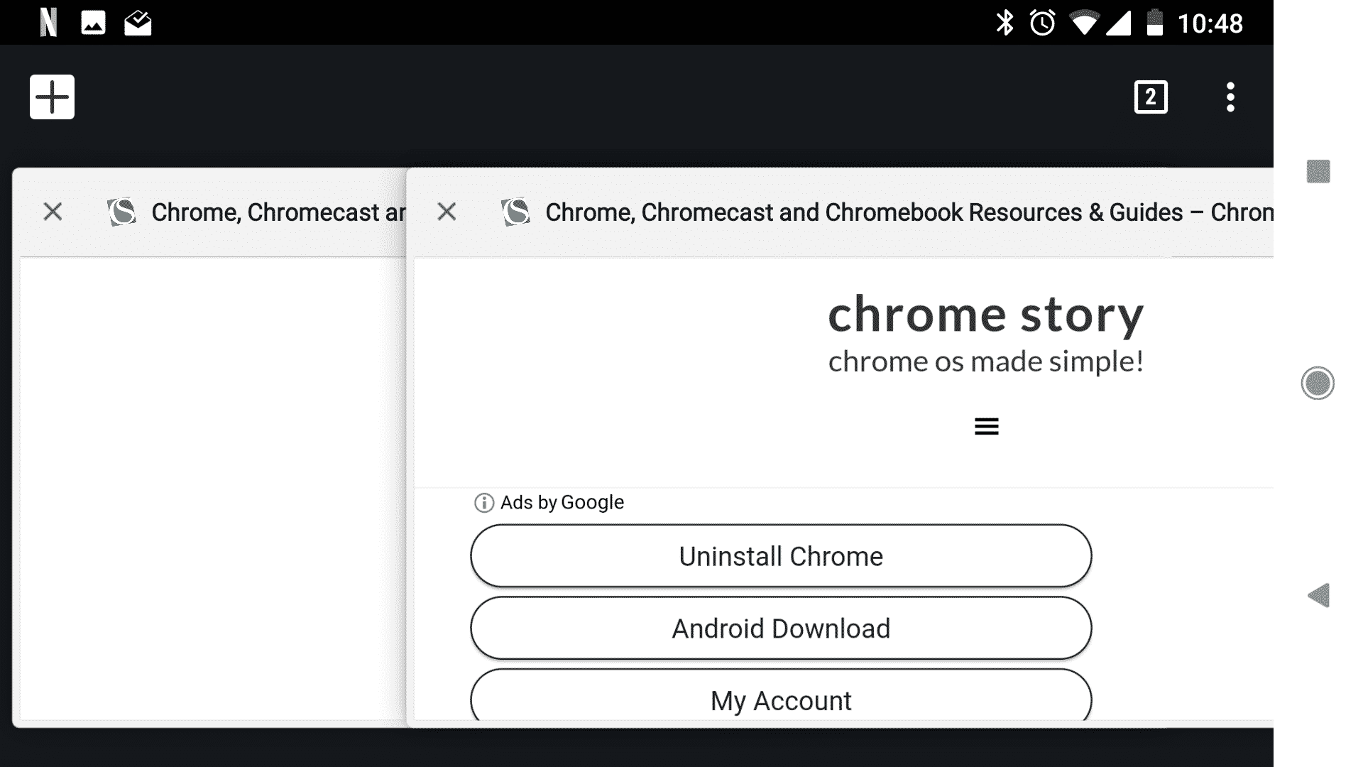 google chrome tab switcher