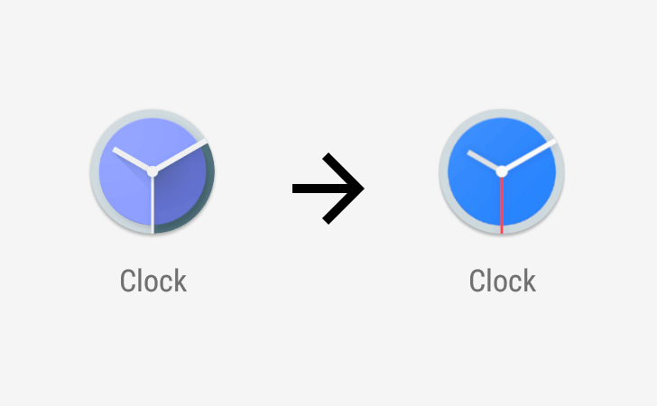 google clock icon