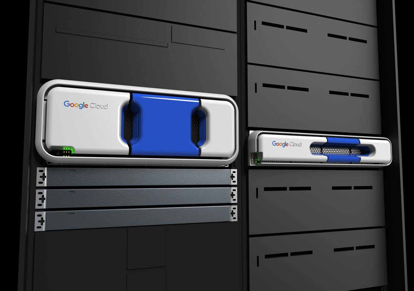 google cloud rack