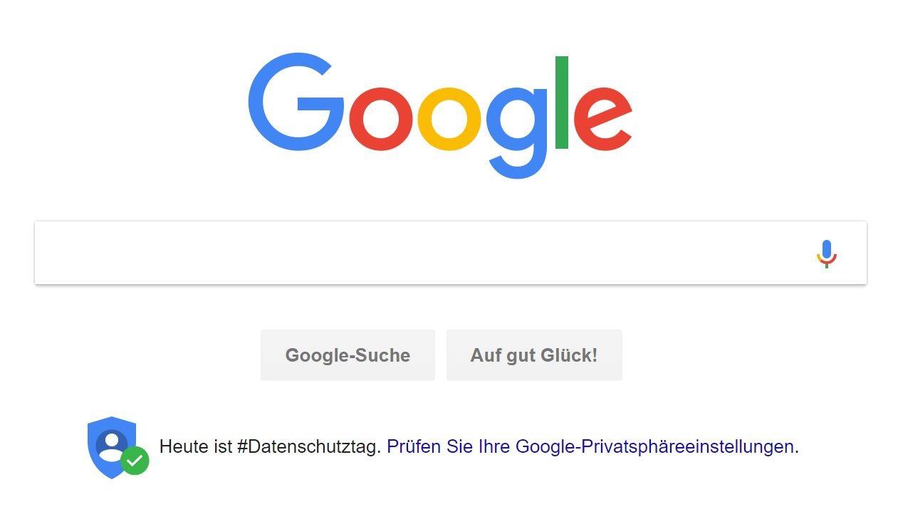 Google Datenschutztag