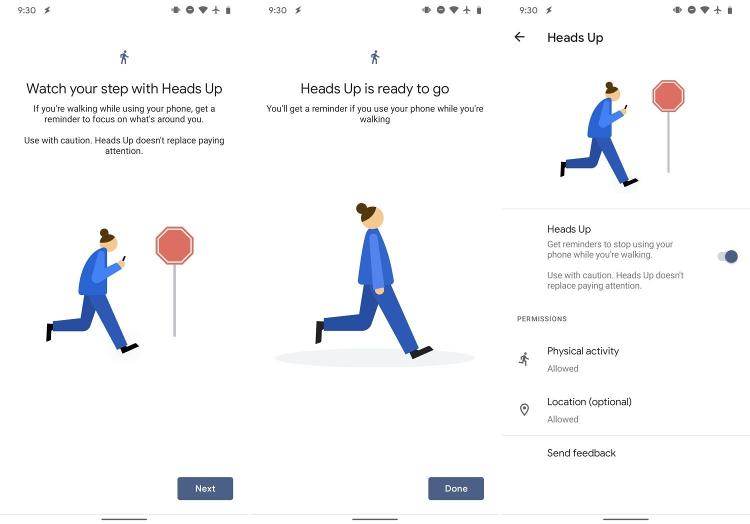 google digital wellbeing smombie screenshots