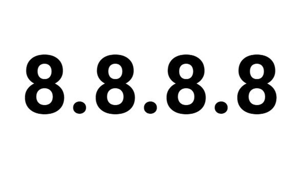 google dns 8.8.8.8
