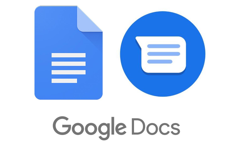 google docs messenger