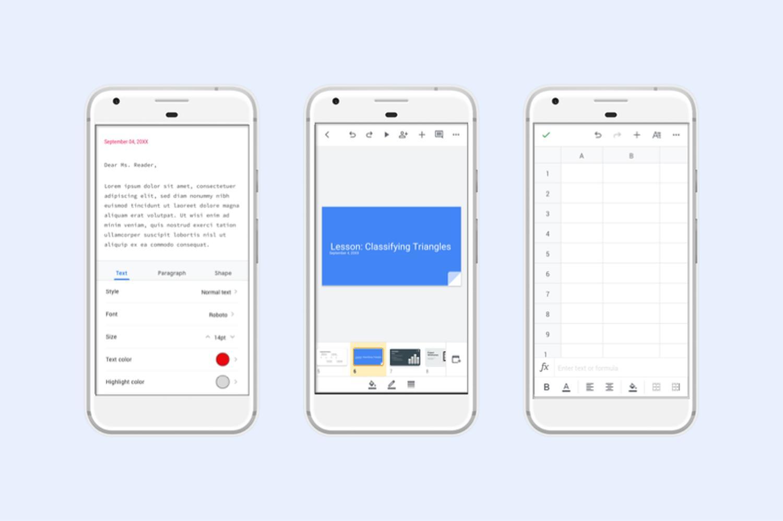 google docs new design