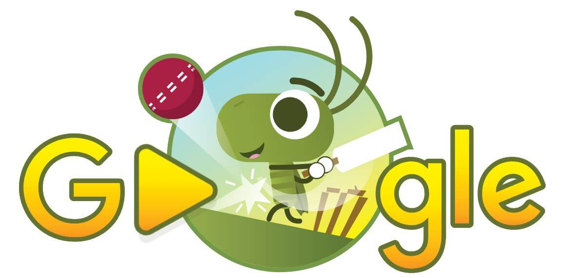 google doodle cricket world cup