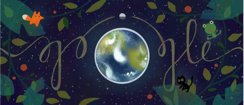 google doodle earth day tag der erde 2017