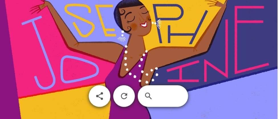 google doodle josephine baker 7