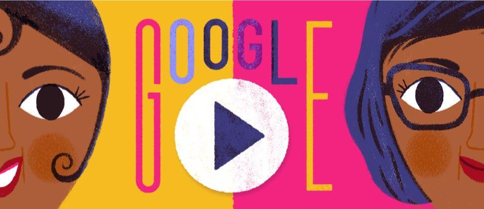 google doodle 111. Geburtstags von josephine baker