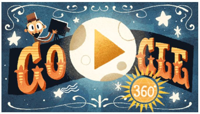google doodle zu ehren georges melies