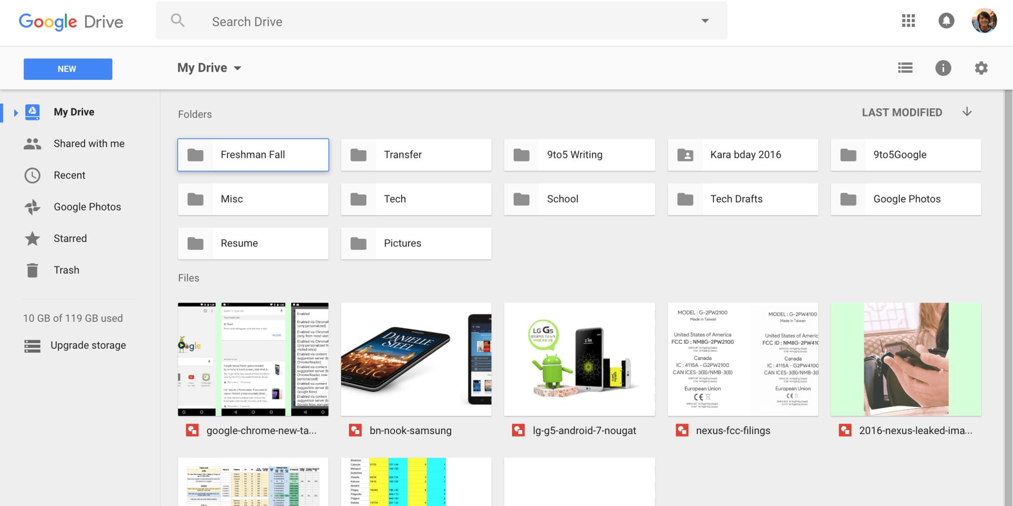 google drive design