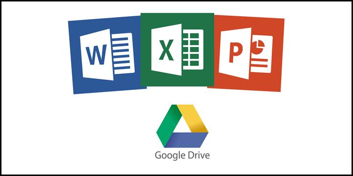 google drive microsoft office