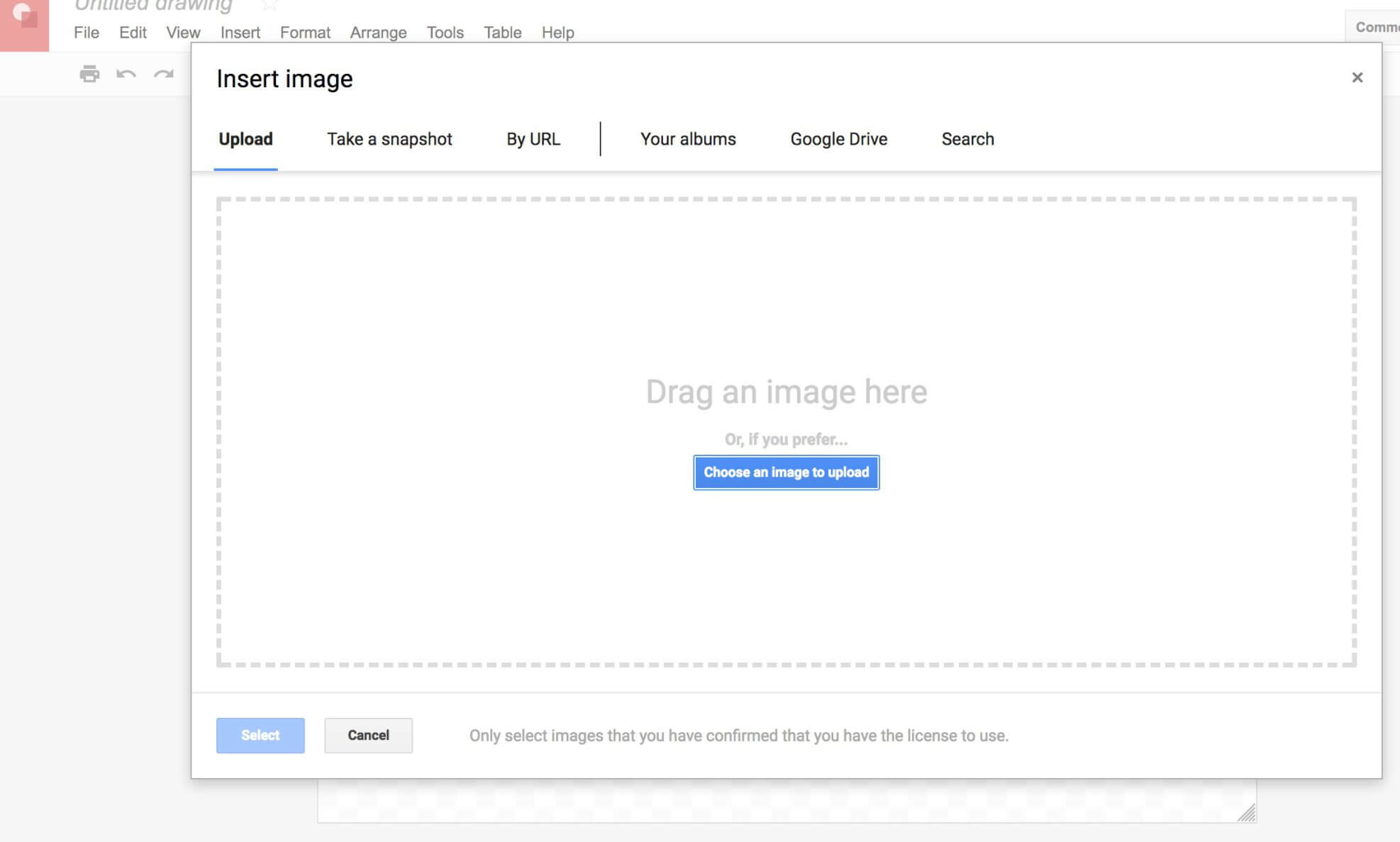 google drive old upload