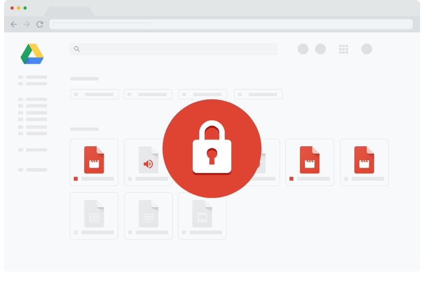 google drive secure