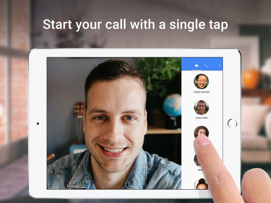 google duo ipad