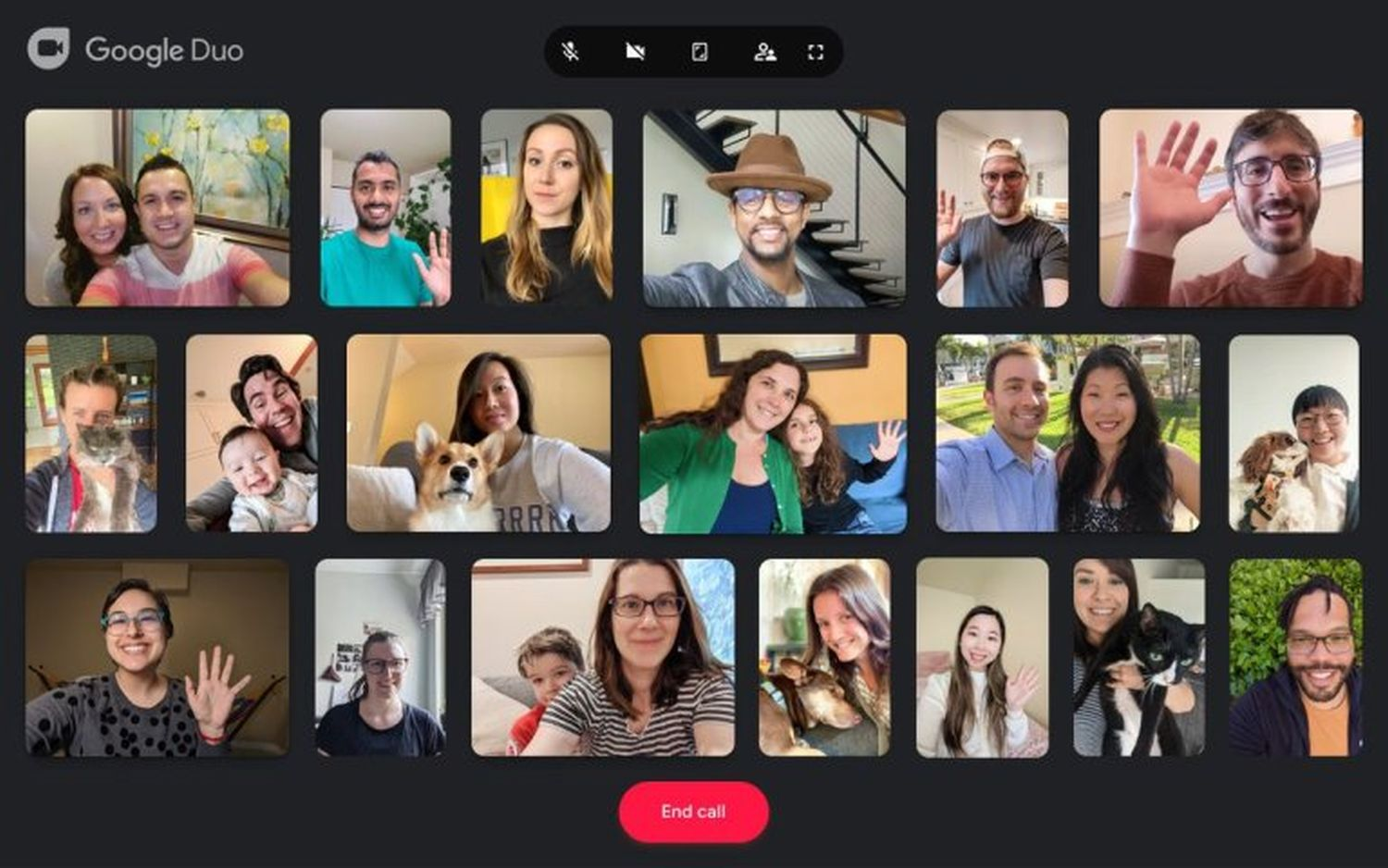 google duo web group